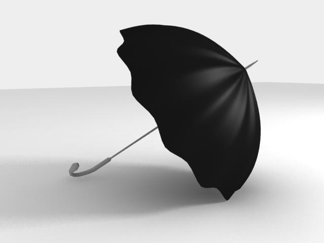 3ds open umbrella