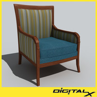 upholstered chair max