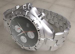 luxury watch c4d