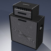 3d model traynor-yba speakers guitar