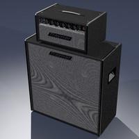 3d model traynor-yba speakers guitar