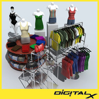 clothing 3d obj
