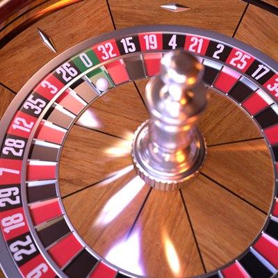 3d model of roulette