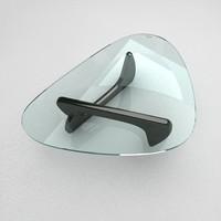 classic table noguchi 3d model