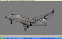 3d max airplane