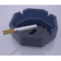 ashtray 3d 3ds