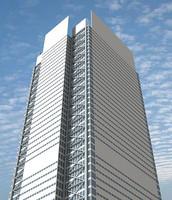 3d model new york building skyscrapers