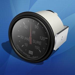air pressure gauge 3d max