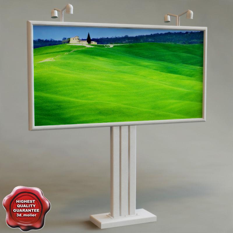 3d billboard v2 model