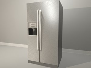 bosch refrigerator 3d max