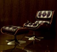 eames designer chair 3d obj