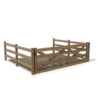 3d cattle grid model