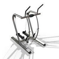 3d gazelle workout