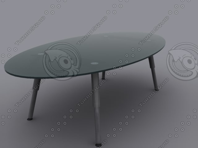 glass table 01 3d 3ds
