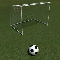 Kids soccer Goals & football