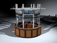 information center 3d model