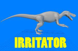 3d model irritator giant
