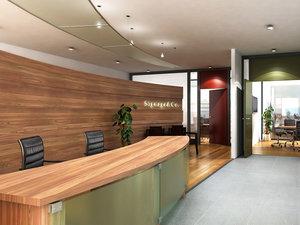 office reception 3d 3ds