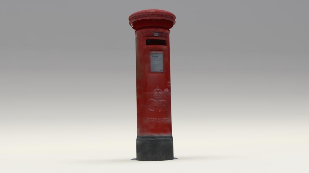 obj postbox
