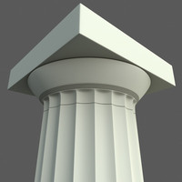 Greek Doric column  Parthenon type
