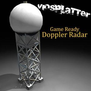 3d 3ds doppler radar