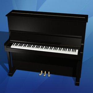 piano musical instrument max