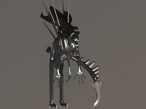 3ds max prototype alien queen