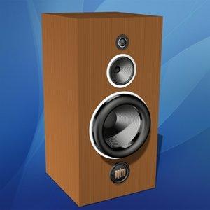 3ds max home loudspeaker