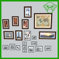 3d artwork frames model