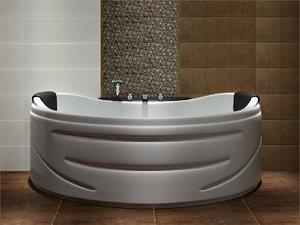 bathtub karag 3d model