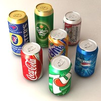 Beer Soda Cans