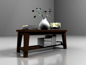 coffee table 3d max