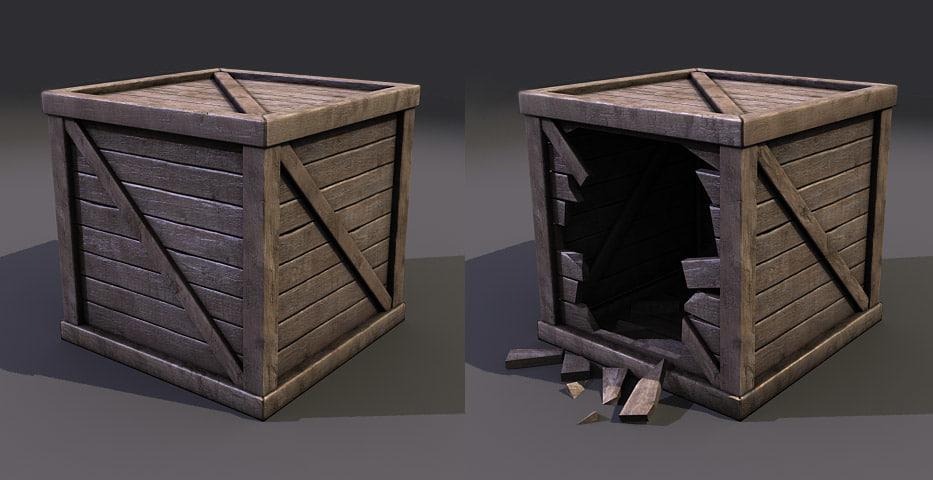 crate games 3d obj