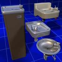 Drinking Fountain Collection 01