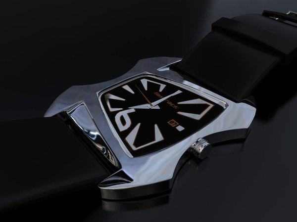 3d titan fastrack watch model