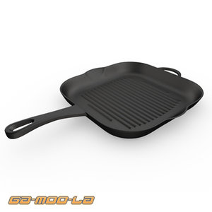 3dsmax griddle frying pan