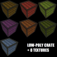 Crate With 8 Textures