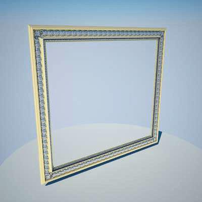 mirror frame 3d max