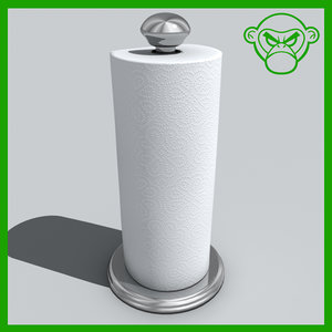 3ds max paper towel holder