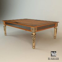 3d model of provasi coffee table