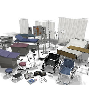 medical equipment vol 1 3d model