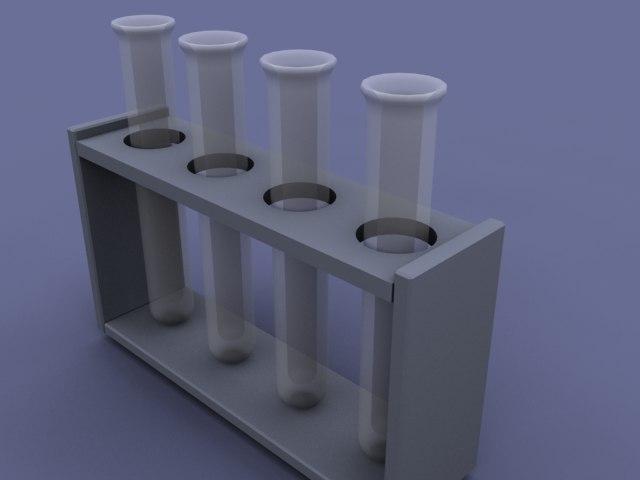 test tubes 3ds