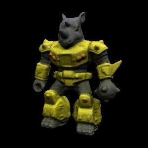 maya rhino creature