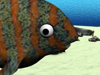 3ds max fish samuel