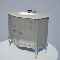 vanity unit interior 3d model
