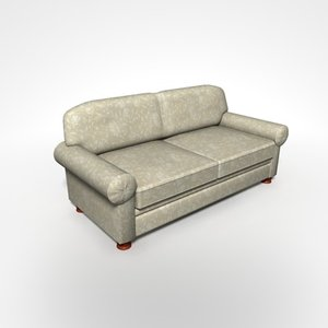 sante sofa 3d 3ds