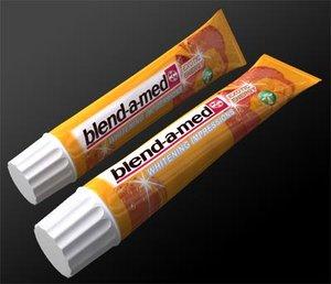 3d blend-a-med toothpaste 125ml model