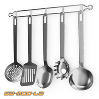 kitchen utencils 3d max