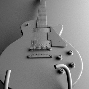 maya gibson les paul guitar