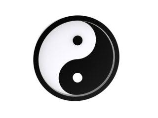 ying yang 3d max